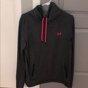 Under Armour sweater up to the neck